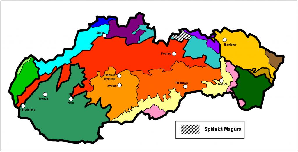 spisska magura mapa