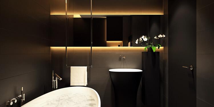 5 Inšpirácií pre moderné kúpeľne - Korela Blog aa5f7adf69